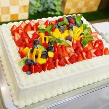 30人前のケーキ