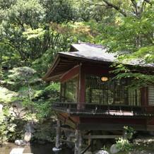 日本庭園もあります!