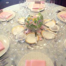 テーブルの雰囲気