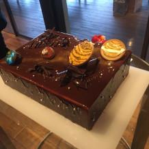 大好きな宇宙をモチーフにしたケーキ