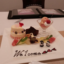 とてもおいしくてかわいいデザート!