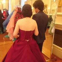 カラードレスがたくさん!!
