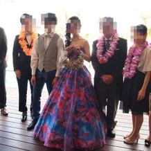 カラードレスもたくさん!!