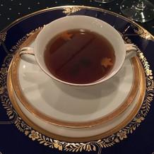 伝統のコンソメスープ