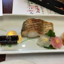 新潟といえばの、のどぐろの塩焼き。