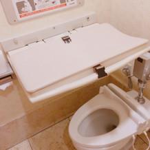 ベビーチェアが無いのでトイレが大変…