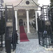 ホワイトハウス入り口