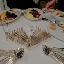 披露宴後のお腹にちょうどいい量でした