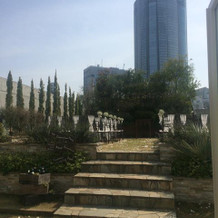 ガーデンチャペルの階段