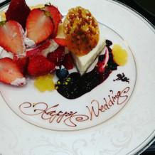 ケーキも可愛くデコ