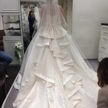 ウェディングドレス種類も豊富。
