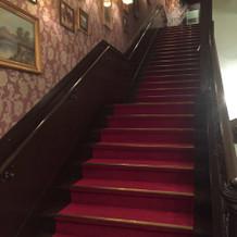 英国調の階段