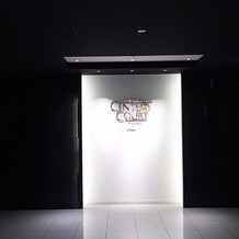 建物入り口(地下①)