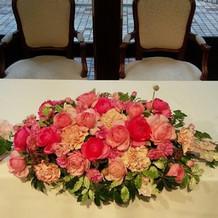 メインのお花