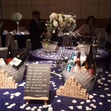 日本酒と焼酎ブース