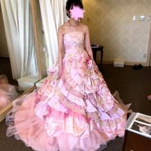 ドレスです