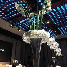 LEDライト.装花