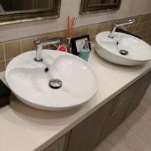 お手洗いもきれいでした。