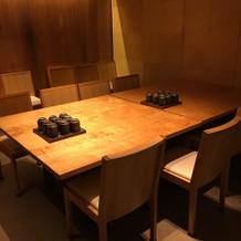 個室が控室や更衣室になります