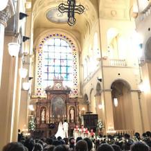 大聖堂。厳かな雰囲気が最高でした。