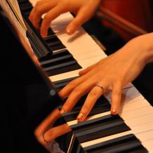 ピアノの演出
