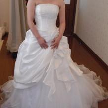 白ドレス3