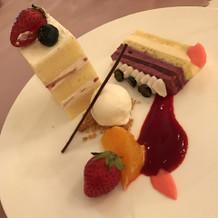 ケーキも大絶賛!!!!