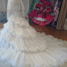 マーメードドレス!