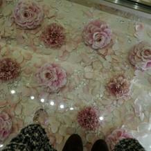 花のバージンロードpink