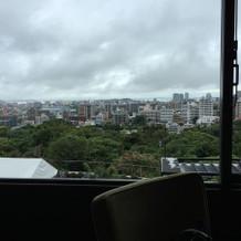 福岡の街を見渡せます