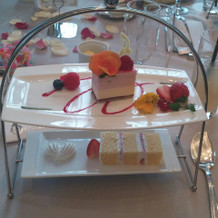 苺とホワイトチョコレートのムース