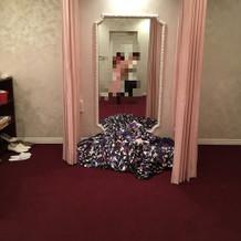 ドレスルーム