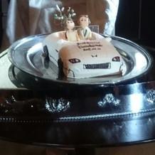 サプライズで用意していたケーキ
