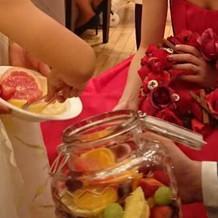 果実酒ラウンド。