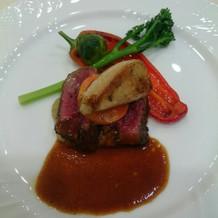 フォアグラ&お肉