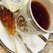 珈琲か紅茶かセレクト。