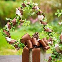 お庭に飾った小物