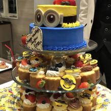 ミニオンのケーキ!