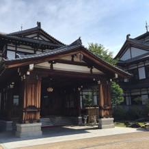 昔ながらの素敵な建物の奈良ホテルです!