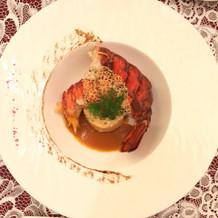 魚料理ランクアップでオマール海老