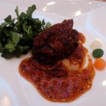 国産牛フィレ肉のグリル