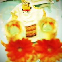 ファーストバイト用ケーキ