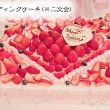 ウエディングケーキ(二次会)