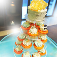 ウエディングケーキ(披露宴)