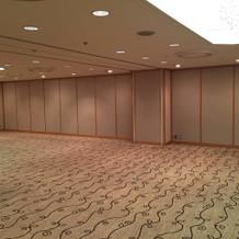 廊下 披露宴会場前