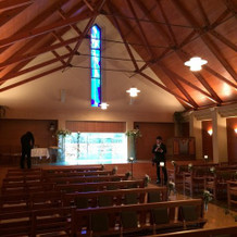 温かい雰囲気がすてきな教会