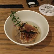 雑穀米のお茶漬け 試食会にて