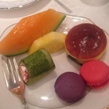 洋菓子と和菓子で種類豊富なデザート