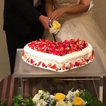 二次会のケーキもこんなに豪華!