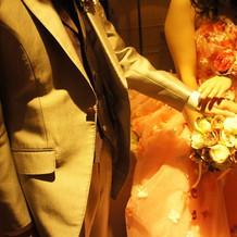 タキシード&カラードレス